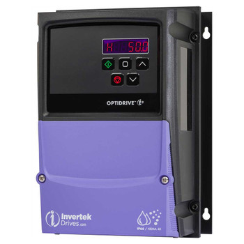 OptiDrive ODE-3-110070-1F1Y-01 Variable Frequency Drive, 7A 0.37 kW