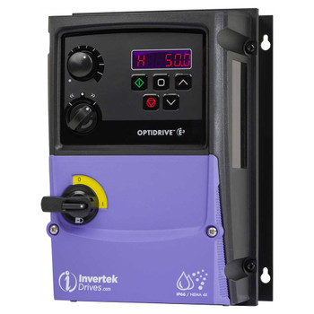 OptiDrive ODE-3-110070-1F1B-01 Variable Frequency Drive, 7A 0.37 kW