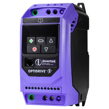 OptiDrive ODE-3-140022-3F12 Variable Frequency Drive, 2.2A 0.75 kW