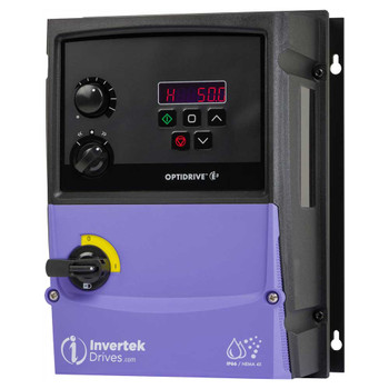 OptiDrive ODE-3-240041-3F4B Variable Frequency Drive, 4.1A 1.5 kW