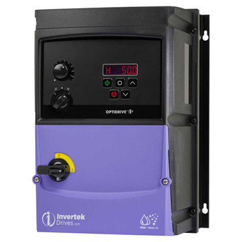 OptiDrive ODE-3-340180-3F4B Variable Frequency Drive, 18A 7.5 kW