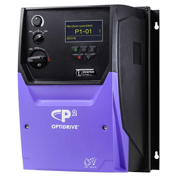 OptiDrive ODP-2-34100-3HF4Y-TN Variable Frequency Drive, 18A 7.5 kW