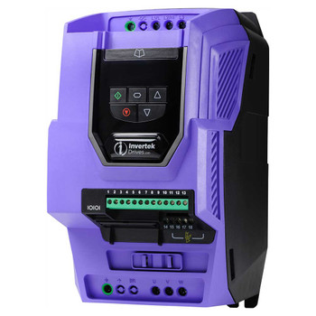 OptiDrive ODV-3-320180-3F12-SN Low Harmonic Variable Frequency Drive, 18A 4 kW