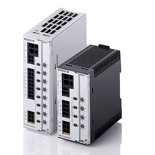 Block PM‑0724‑120‑0 Electronic Circuit Breaker, 24VDC, 2 channels