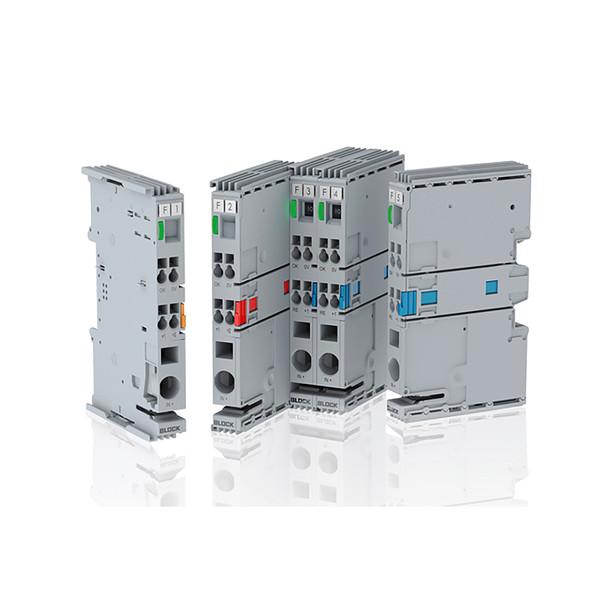 Block EB-2724-100-0 Single-Channel Electronic Circuit Breaker, 24 VDC, 10 A