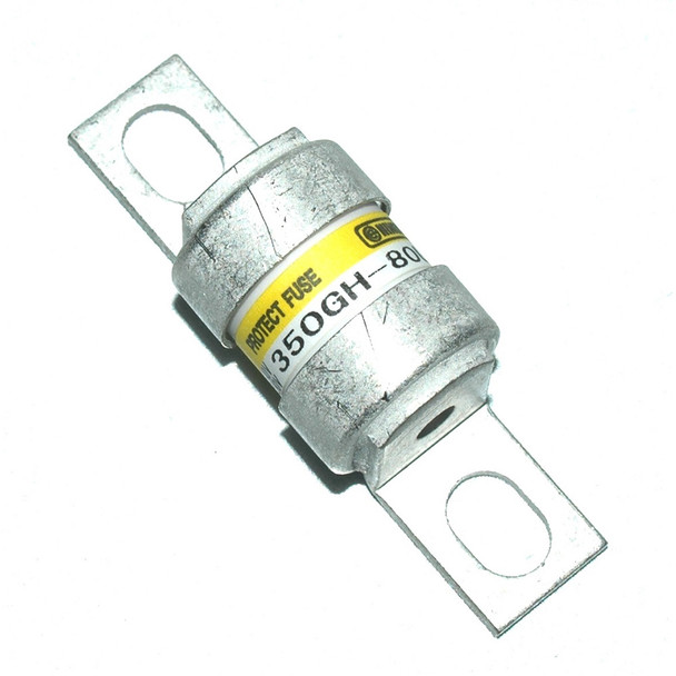 Hinode 350GH-80UL Cylindrical Fast Acting Fuse, 350V AC/DC, 80A
