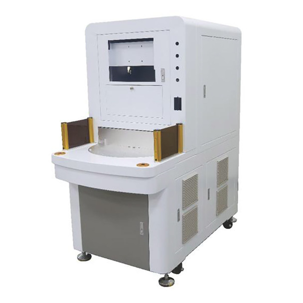 HBS GQ Series Enclosed Rotary Table Fiber Laser Marker