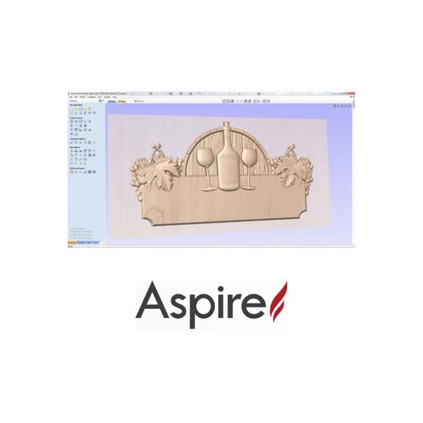 Vectric Aspire 2D / 2.5D / 3D Design Software For CNC Routers