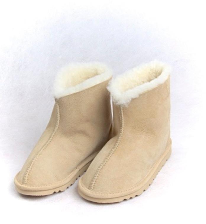 Natural Short Boot