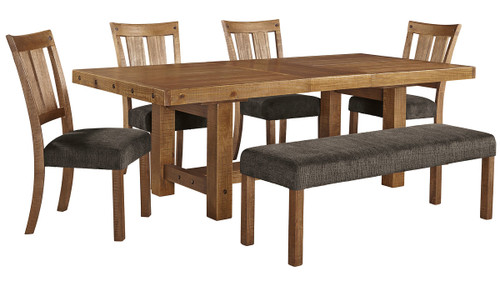 Tamilo Pc. Rectangular Extension Dining Set