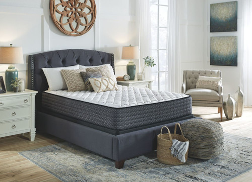 Limited Edition Firm White Twin Mattress & Foundation