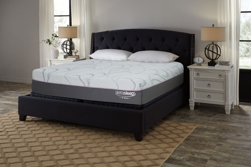 Palisades Light Gray King Mattress