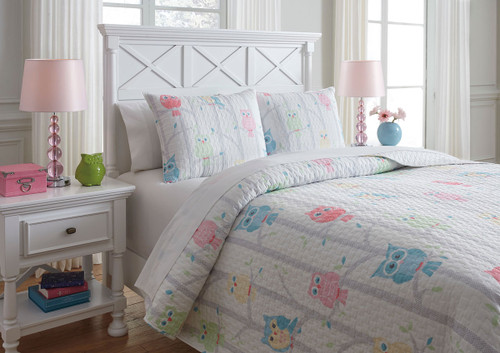 Lucille Multi Full Coverlet Set