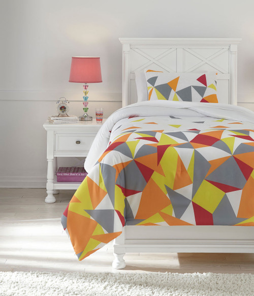 Maxie Multi Twin Comforter Set