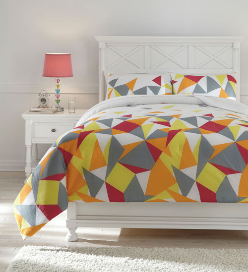 Maxie Multi Full Comforter Set