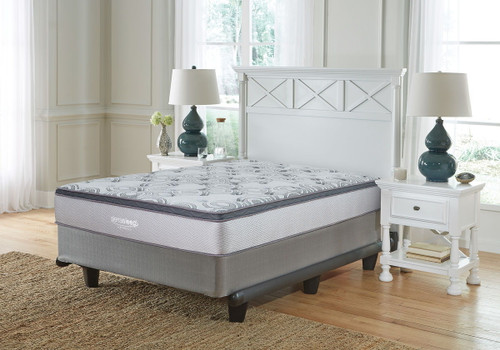 Augusta White Full Mattress & Foundation