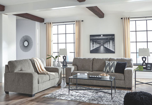 Termoli Granite Sofa, Loveseat & Augeron Table Set