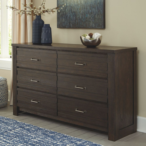 Darbry Brown Dresser