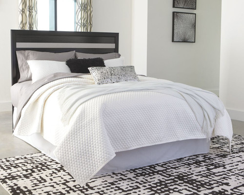 Starberry Black King/Cal King Panel Headboard