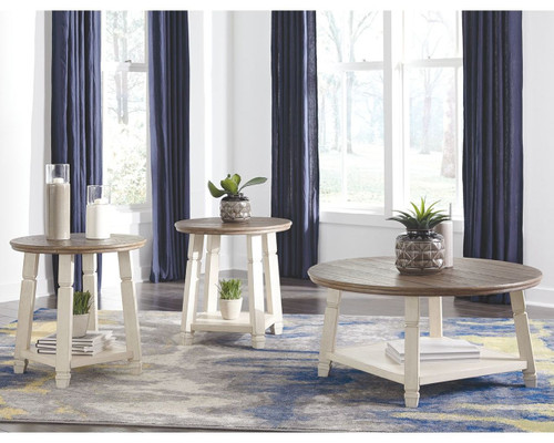 Bolanbrook Two-tone Occasional Table Set (3/CN)