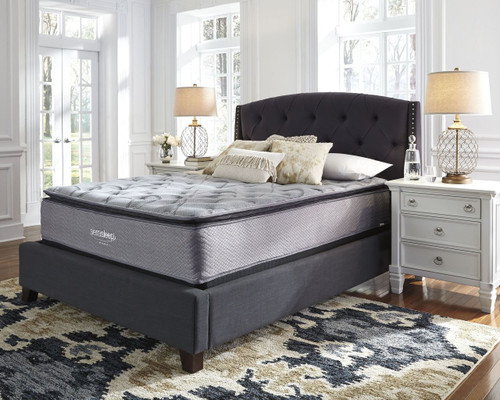 Curacao White King Mattress & Foundation (2 RQD)