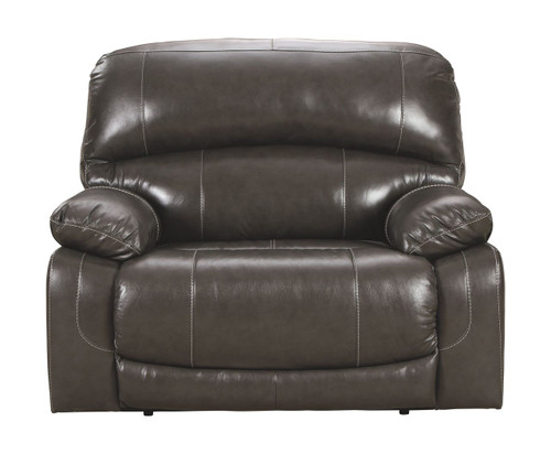 Hallstrung  Gray  Zero Wall Power Wide Recliner