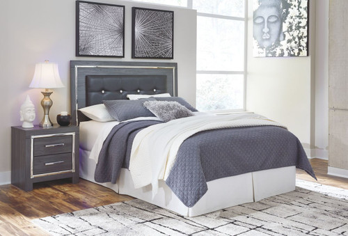 Lodanna Gray Queen/Full Upholstered Panel Headboard