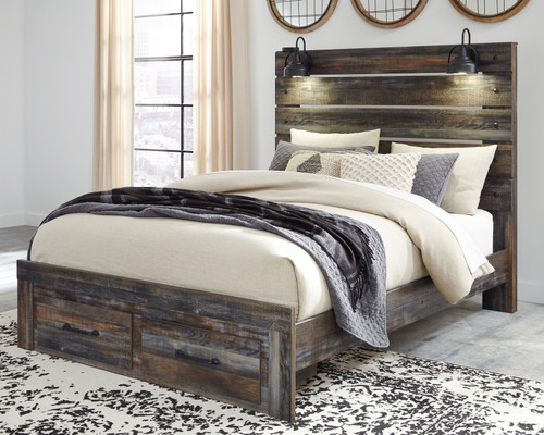 Drystan Multi Queen Panel Bed with Storage