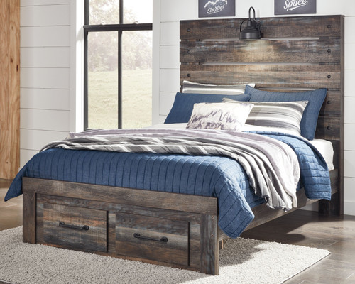Drystan Multi Full Panel Bed with Storage