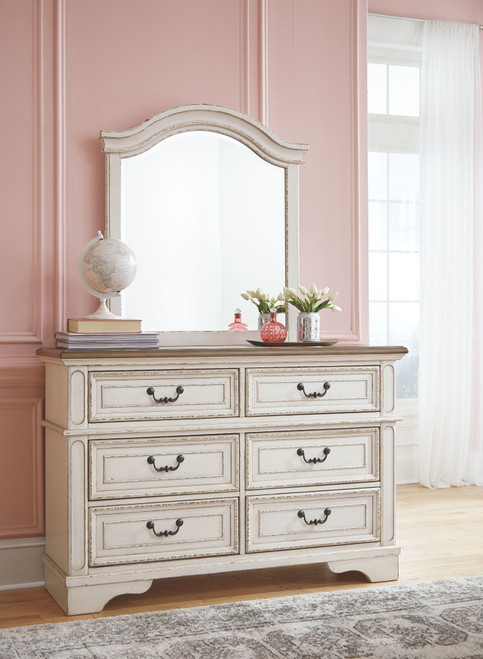 Realyn Two-tone Youth Dresser & Mirror