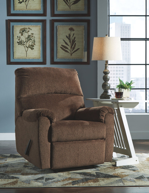 Nerviano Chocolate Zero Wall Recliner