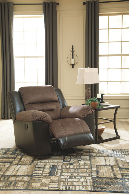 Earhart Chestnut Rocker Recliner