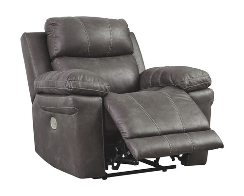 Erlangen Midnight Power Recliner/ADJ Headrest