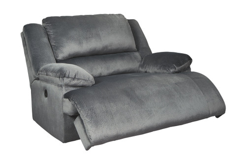 Clonmel Charcoal Zero Wall Power Wide Recliner