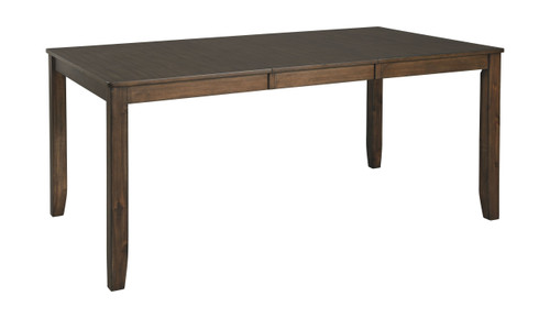 Drewing Brown Rectangular Dining Room Extension Table
