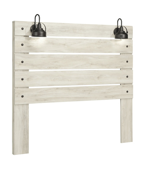 Cambeck Whitewash Queen Panel Headboard