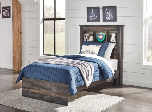 Drystan Multi Twin Bookcase Headboard