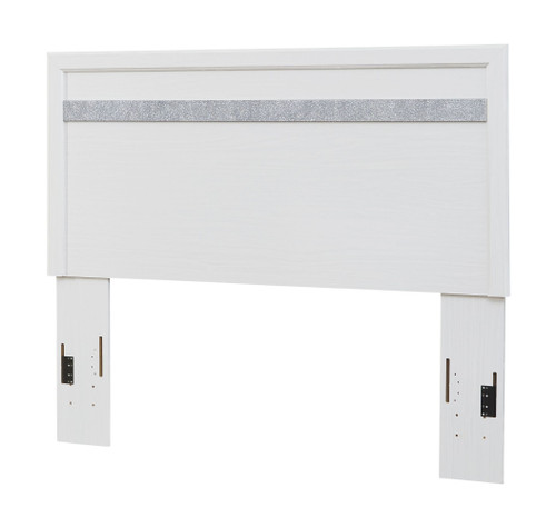 Jallory White Queen/Full Panel Headboard