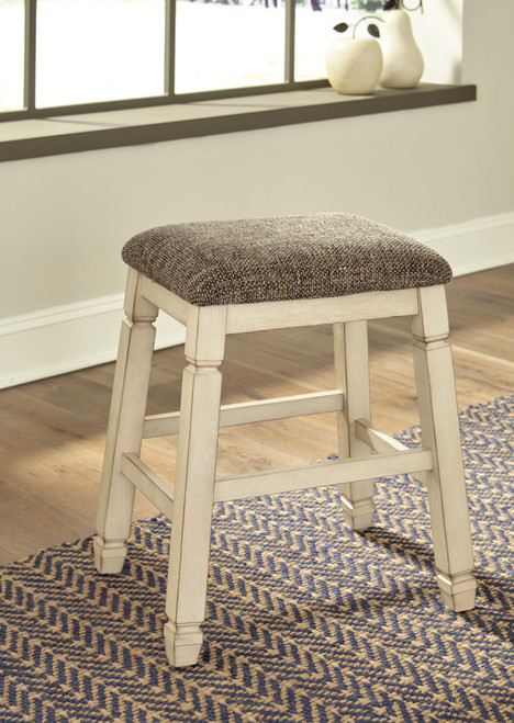 Bolanburg Two-tone Upholstered Stool (Set of 2)