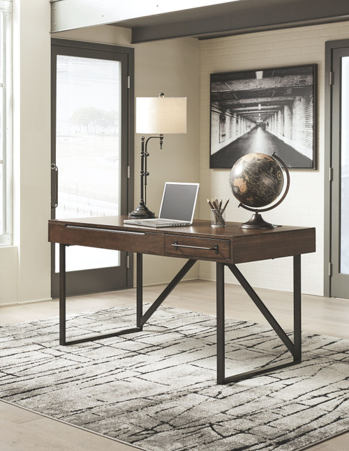 Starmore Brown Home Office Lift Top Desk
