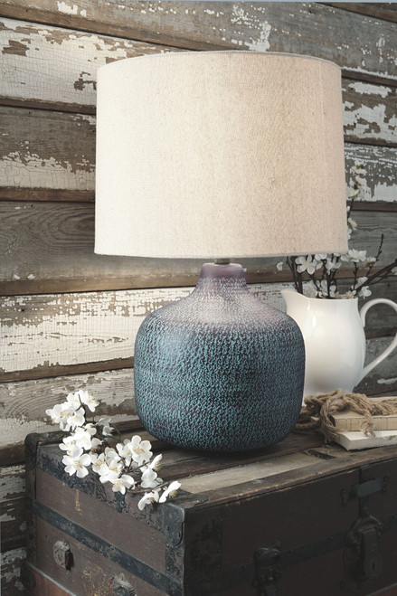 Malthace Patina Metal Table Lamp (1/CN)