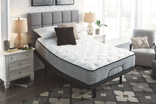 Mt Rogers Ltd Plush White California King Mattress