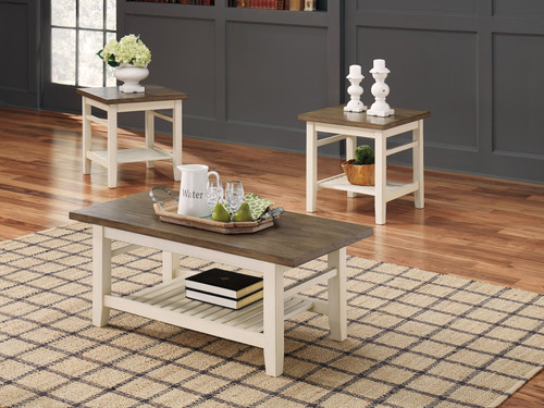 Bardilyn Two-tone Occasional Table Set (3/CN)