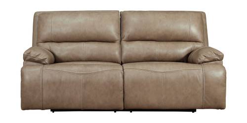 Ricmen Putty 2 Seat Power Reclining Sofa ADJ HDREST