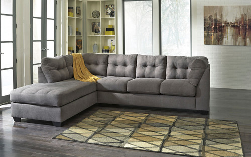 Maier Charcoal 2 Pc. Left Arm Facing/Right Arm Facing Sectional