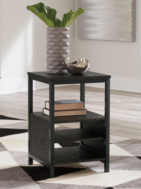 Airdon Bronze Chair Side End Table