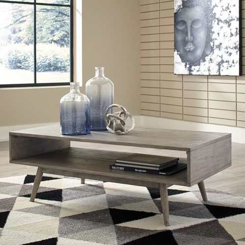Asterson Gray Rectangular Cocktail Table