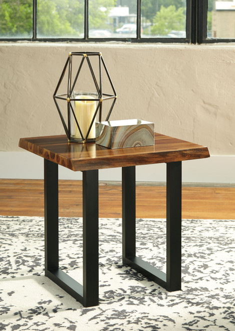 Brosward Two-tone Square End Table