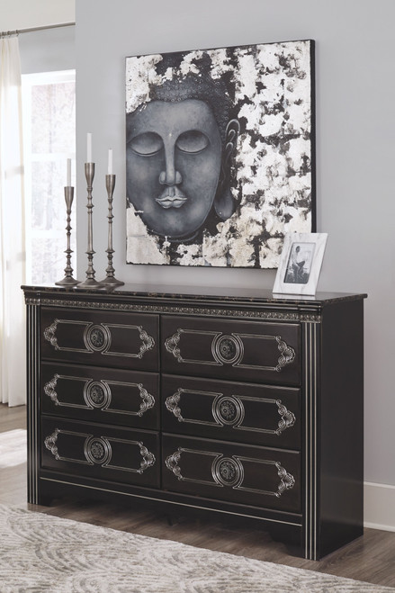 Banalski Dark Brown Dresser