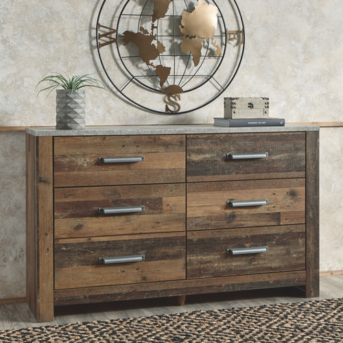 Chadbrook Brown Dresser